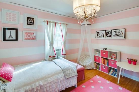 女生卧室小清新设计技巧