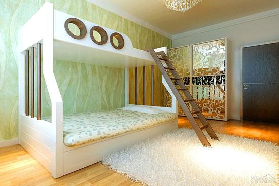 创意无限的儿童房设计之魅力手工