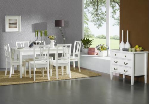白色家具效果图