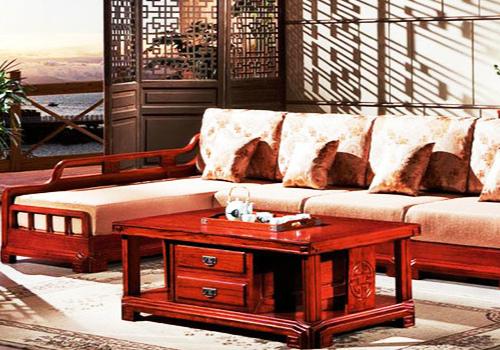 红木沙发效果图