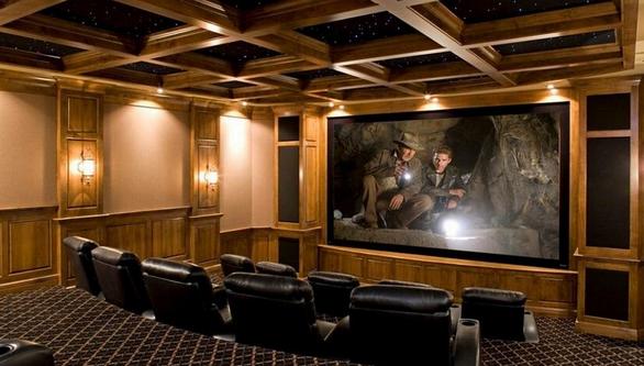 家庭影院装修效果图