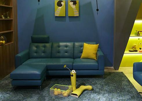 真皮沙发装饰效果图