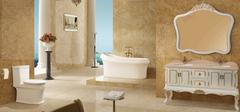 华丽的欧式浴室柜,品牌的竞争!
