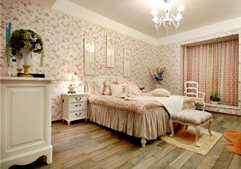 卧室大自然地板