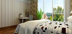 卧室壁纸装修效果图,营造不同氛围!