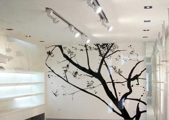 客厅手绘墙