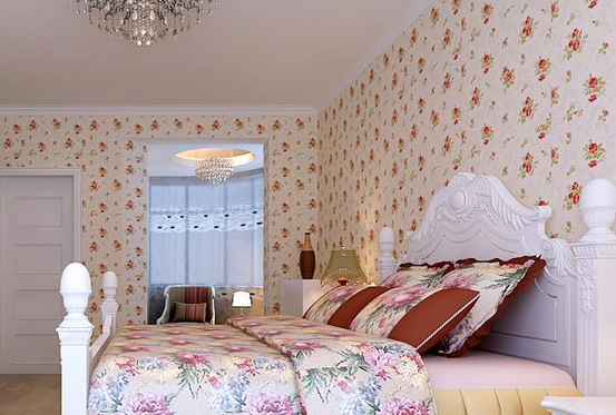 卧室壁纸装修效果图