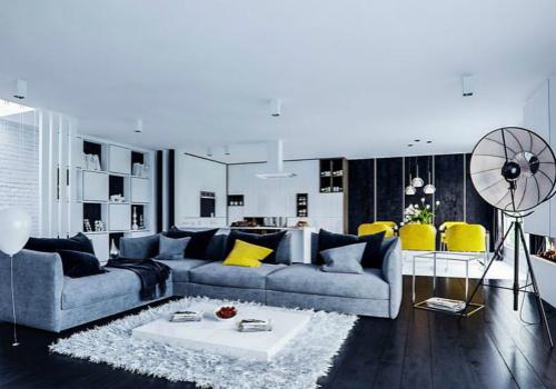 布艺沙发装饰效果图