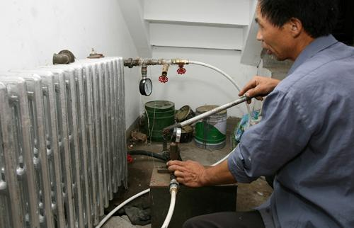 暖气管道改造