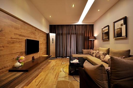 木地板背景墙--木地板材质的选择