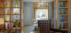 现代简约的客厅隔断效果图赏析