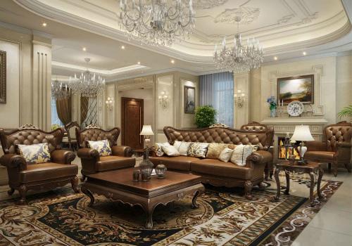 美式家具效果图