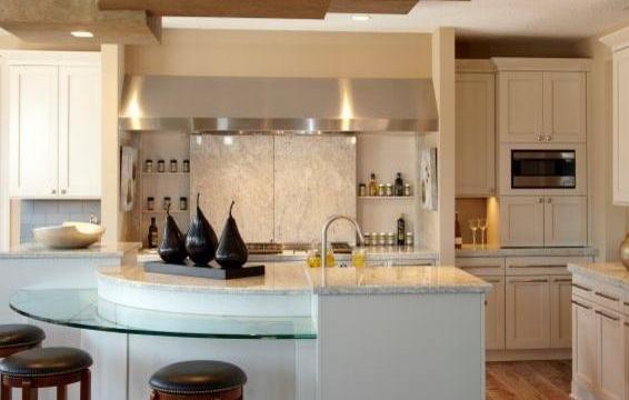 开放式厨房装修效果