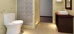 厕所装修效果图,合理装修空间延伸!