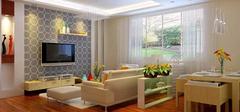 小户型客厅电视墙设计,巧妙利用!