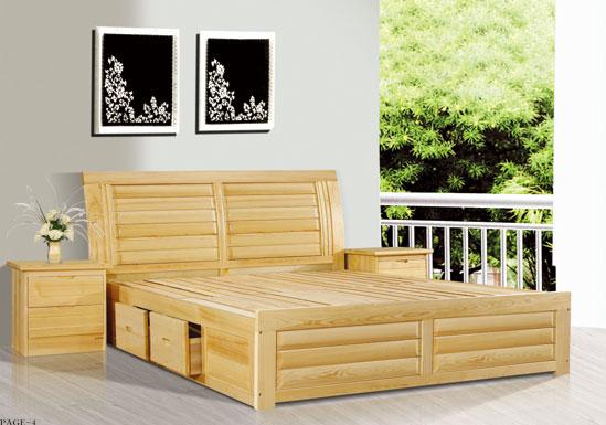 松木床的优缺点