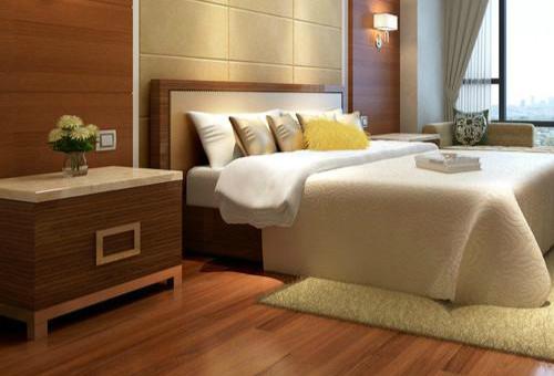实木床装饰效果图