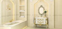 卫生间设计效果图,小空间大放光彩!