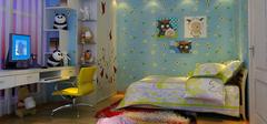 儿童房之中式风格颜色选择