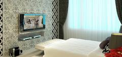 卧室电视墙装修效果图大全,质感装修!
