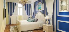 卧室田园风格PK地中海风格