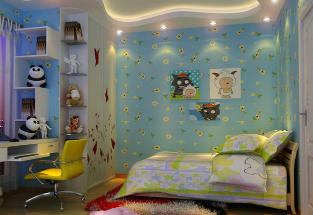 中式风格儿童房装修