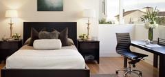 现代简约卧室配色赏析,如何配色显得时尚?
