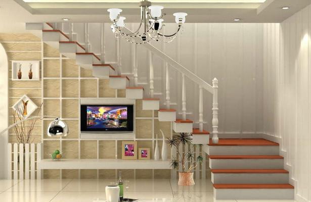 复式楼梯效果图