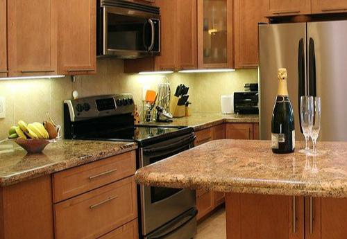 花岗岩厨房台面