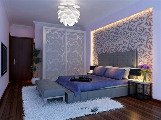 现代简约卧室壁纸