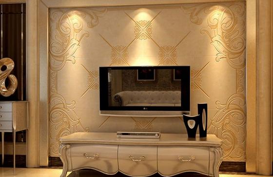 瓷砖背景墙设计