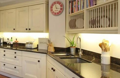花岗岩厨房台面效果图