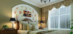 卧室床头背景墙,风格装修装出不同效果!