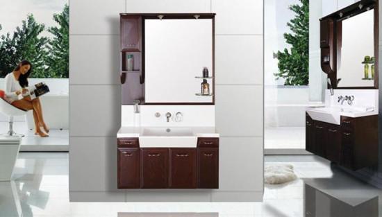 浴室柜选购看表面