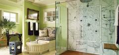 卫生间玻璃隔断墙,玻璃隔断优点介绍!