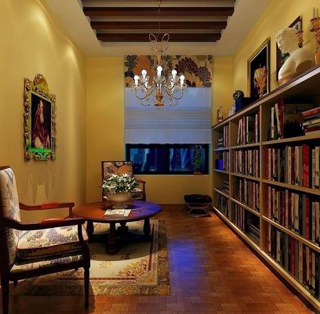 地中海风格书房装修