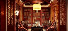 书房之中式风格装修 装出大气之感