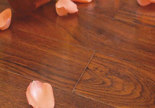 柚木地板效果图