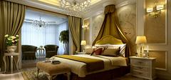 卧室装修之欧式风格效果图欣赏