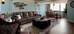不同风格的沙发背景墙设计欣赏