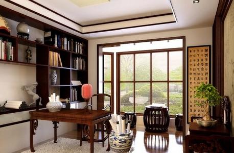书房之中式风格装修