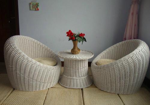 柳编沙发效果图