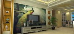 客厅电视墙效果图,最新电视墙装修!