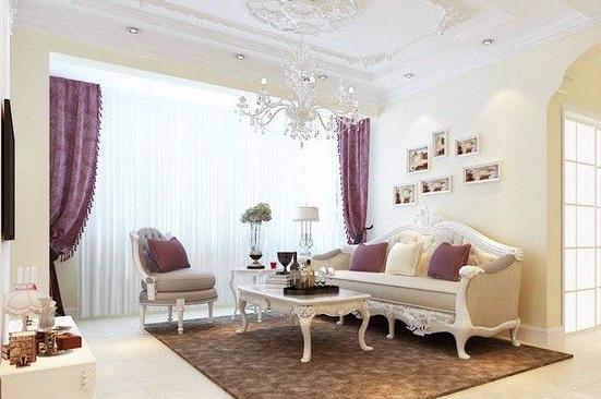 欧式客厅装修