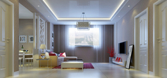 现代简约风格之客厅装修设计