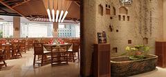 中式快餐店装修,传统文化传承!
