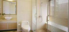 浴室玻璃门清理,清洁好方法!