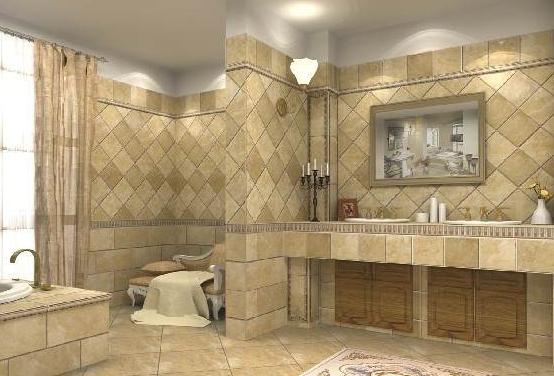 卫生间墙砖选择