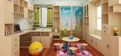 儿童房如何装修布置才有益健康?