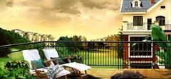 阳台花园装修效果图案例欣赏